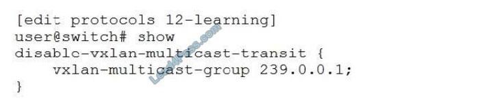 lead4pass jn0-681 practice test q3