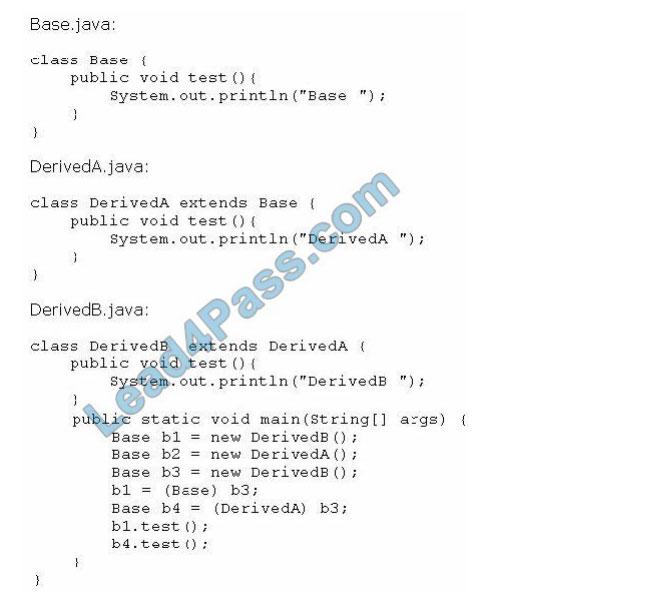 [2021.1] lead4pass 1z0-808 practice test q12